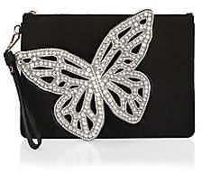 Sophia Webster Women's Flossy Leather Butterfly Pouchette