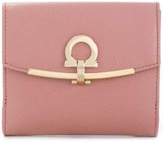 Salvatore Ferragamo square design front logo purse