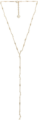 Kendra Scott Yvonne Necklace in Metallic Gold. $85 thestylecure.com