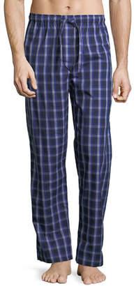 Derek Rose Barker 15 Check Cotton Lounge Pants
