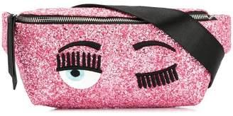 Chiara Ferragni Flirting glitter belt bag