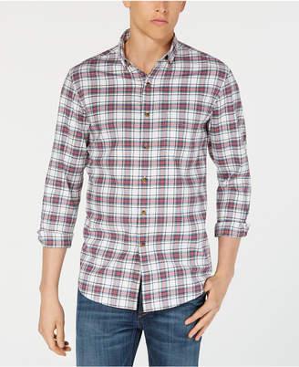 Club Room Men's Plaid Shirt