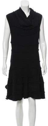 Chanel Sleeveless Midi Knit Dress