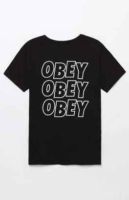 Obey Jumbled Eyes T-Shirt