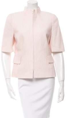 Akris Textured Three-Quarter Sleeve Jacket