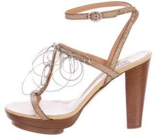 Fratelli Rossetti Embellished Platform Sandals