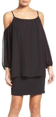 Women's Laundry By Shelli Segal Cold Shoulder Dress $195 thestylecure.com