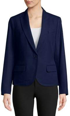 Anne Klein One-Button Blazer