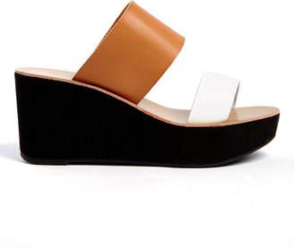 Chinese Laundry Ollie Double Strap Wedge Platform Sandal