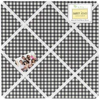 JoJo Designs Sweet Polka Dot Ladybug Gingham Memo Board