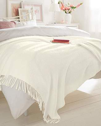 Fashion World Soft Touch Woven Blanket