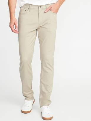 Old Navy Slim Built-In Tough All-Temp Twill Five-Pocket Pants for Men