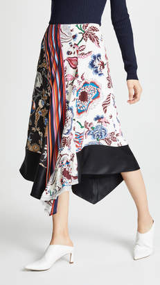 Tory Burch Floral Skirt