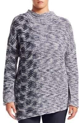 Nic+Zoe Plus Coming Along Knit Top
