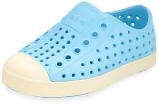 Native Jefferson Waterproof Low-Top Shoe, Surfer Blue, Baby Sizes 0-9 Months