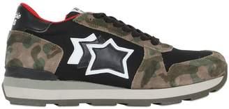 Gemma Stars Suede & Nylon Sneakers