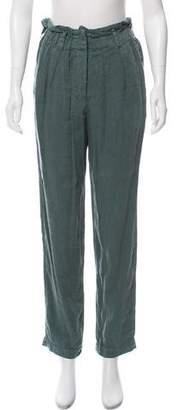 Etoile Isabel Marant Linen High-Rise Pants w/ Tags