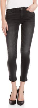 Flying Monkey Black Lash Distressed Skinny Jeans