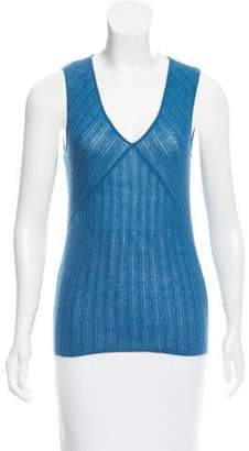Narciso Rodriguez Cashmere & Silk Sleeveless Top
