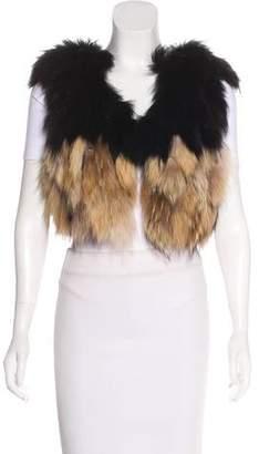 Zadig & Voltaire Flavie Fur Vest