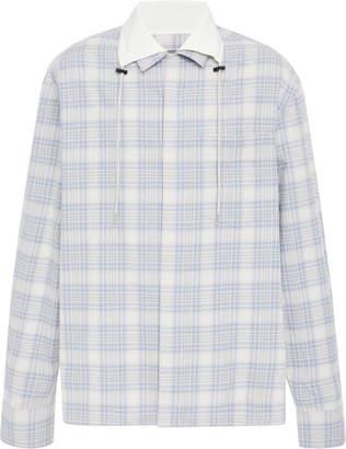 Lanvin Plaid Cotton-Twill Shirt