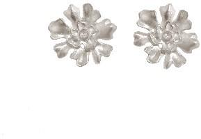 Annette Ferdinandsen Lichen Stud Earrings - Sterling Silver
