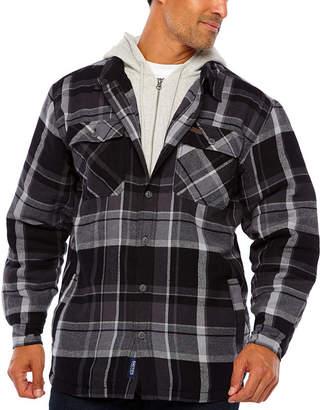 Smith Workwear Smith Fleece Lined Hood & Insert W Yarn Dye Flannel
