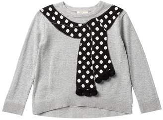 Kate Spade trumpe l'oeil sweater (Big Girls)
