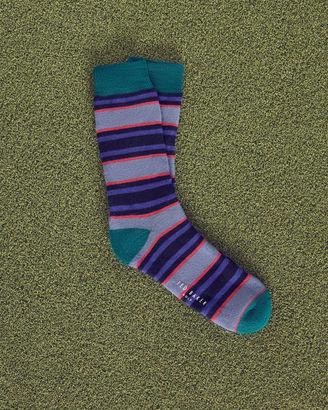 Striped cotton socks $29 thestylecure.com