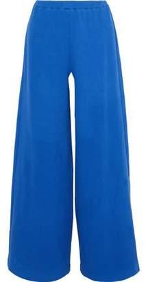 Simon Miller Rian Ribbed Cotton-Blend Wide-Leg Pants