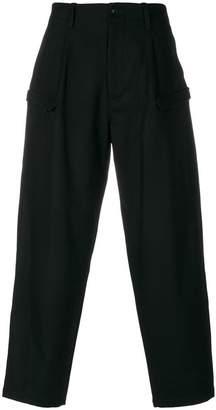 Yohji Yamamoto side pocket trousers