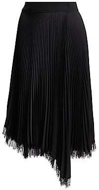A.L.C. Women's Adele Lace-Trim Skirt
