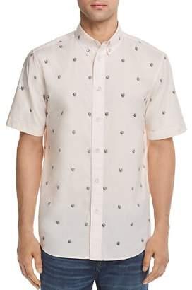 Rag & Bone Smith Patterned Regular Fit Button-Down Shirt