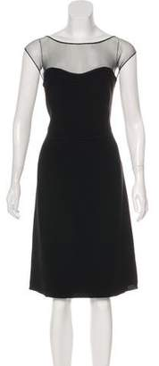 Max Mara Sleeveless A-Line Dress