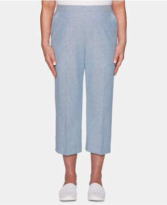 Alfred Dunner Monterey Pull-On Cropped Pants