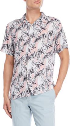 Nickel & Iron Peach Leaf Short Sleeve Shirt