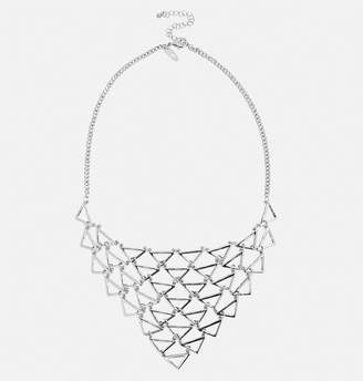 Avenue Silver Triangle Necklace