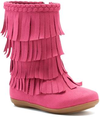 Jumping Beans Shaw Toddler Girls' Fringe Boots