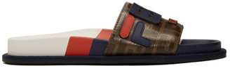 Fendi Multicolor Mania Slides