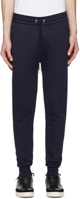 Burberry Navy Haleford Lounge Pants $295 thestylecure.com