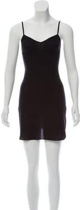 Bodas Sheer Tactel Slip Dress