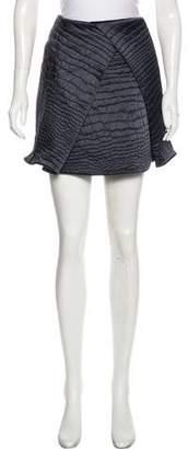 Kenzo Satin Mini Skirt w/ Tags