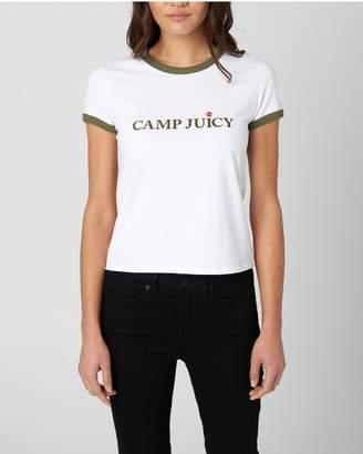 7c3446d20daf Juicy Couture CAMP JUICY RINGER TEE