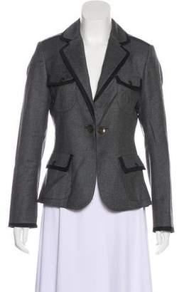 Rag & Bone Wool Structured Blazer