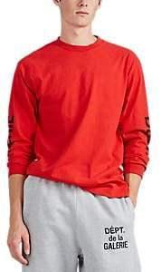 Gallery Department Men's Logo Cotton Long-Sleeve T-Shirt - Red
