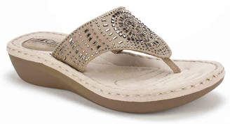 White Mountain Cliffs by Cienna Wedge Sandal - Women's