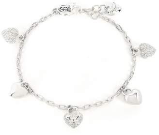 Juicy Couture Jc Pave Heart Charm Bracelet