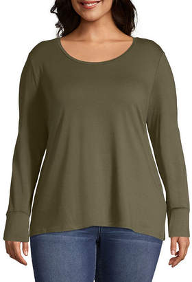 3f613731795b2 A.N.A Green Plus Size Tops on Sale - ShopStyle