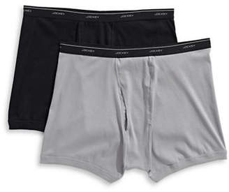 Jockey Pack of Two Big Man Classic Boxer Briefs
