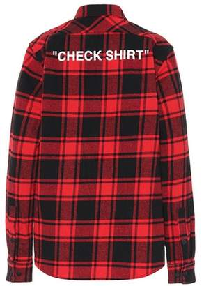 Off-White Checked shirt
